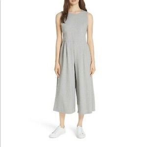 Eileen Fisher Moon Organic Cotton Cropped Jumpsuit